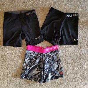 Nike Pro Youth Lot